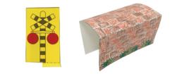 【ピクニックボックス 基礎編 うみへいこう】5_踏切警報機・トンネル