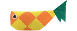 【ピクニックボックス 基礎編 うみへいこう】6_折り紙の魚