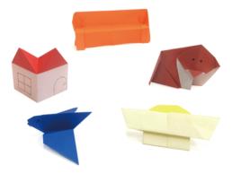 【ピクニックボックス 応用編 まちへいこう】折り紙名人