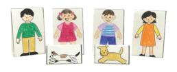【ピクニックボックス 応用編 まちへいこう】10_人物・動物