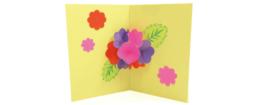 【ピクニックボックス 発展編 やまへいこう】お花畑カード