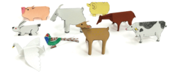 【ピクニックボックス 発展編 やまへいこう】5_動物セット