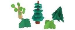 【ピクニックボックス 発展編 やまへいこう】6_4種類の木