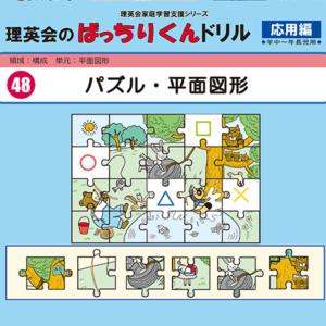 048 ばっちりくんドリル パズル・平面図形(応用編)